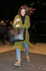 Mandy Moore Outside of her hotel in New York