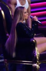 Mariah Carey Performs In Las Vegas