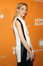 Martha Hunt At Montblac Celebrates Launch of MB 01 Headphones & Summit 2+ in NY