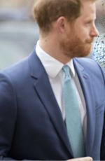 Meghan Markle Attending the Commonwealth Service at Westminster Abbey London