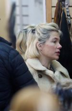 Michelle Williams Heads to a salon makeup free to be fitted for hair extensions in New York City