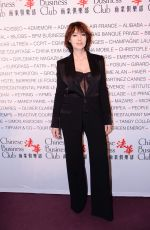 Monica Bellucci At Chinese Business Club dinner, Paris, France