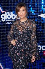 Myleene Klass At The Global Awards 2020 with Very.co.uk at Eventim Apollo, Hammersmith in London