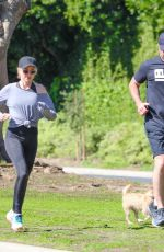Naomi Watts Reunites with ex-husband Liev Schreiber for a jog during break from quarantine in Brentwood
