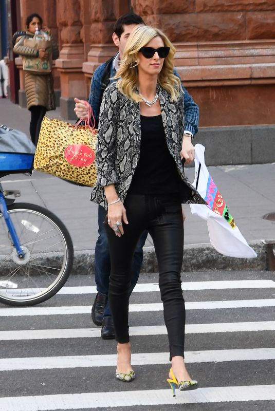 Nicky Hilton Heading to the AOL Build studios in New York City
