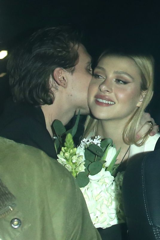 Nicola Peltz & Brooklyn Beckham Seen leaving the Things launch party in London