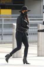 Nicole Scherzinger Flying out of Heathrow Airport, London