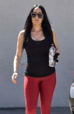 Nikki Bella Heads to her afternoon workout session at a gym in Studio City