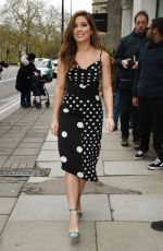 Nikki Sanderson At The TRIC Awards, Arrivals, Grosvenor House, London