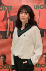Nolwenn Leroy At Lacoste show as part of the Paris Fashion Week