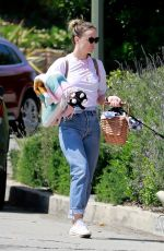 Olivia Wilde At a park in Los Angeles