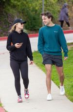 Olivia Wilde Out with her brother in Silver Lake
