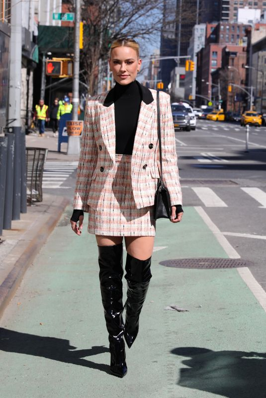 Peta Murgatroyd Pictured out and about in Times Square, Manhattan