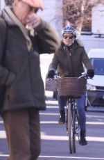 Pippa Matthews Spotted on her bicycle in West London