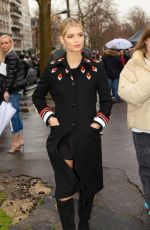 Pixie Geldof At the Valentino show as part of the Paris Fashion Week
