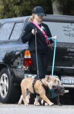 Reese Witherspoon Out with her family in Pacific Palisades
