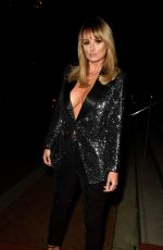 Rhian Sugden Arriving at Mirror Ball at The Lowry Hotel in Manchester