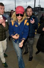 Rita Ora Arriving at Sport Relief in Salford, England