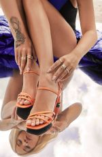 Rita Ora As she showcases her new shoe collection with Deichmann