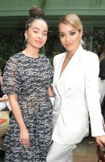 Rita Ora At International Womens Day for The Caring Foundation with Salma Hayek at Annabel