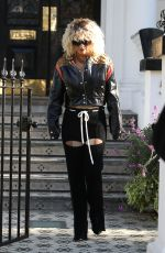 Rita Ora Out & about in London