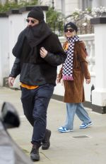 Rita Ora Spotted out getting some shopping done in London