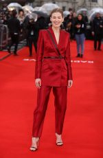 Rosamund Pike At Radioactive premiere in London