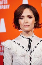 Rose Byrne At Atlantic Theater Company Presents 35th Annual Couples Choice Gala, New York