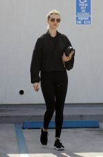 Rosie Huntington-Whiteley is Pictured Exiting a Gym After A Workout in Los Angeles