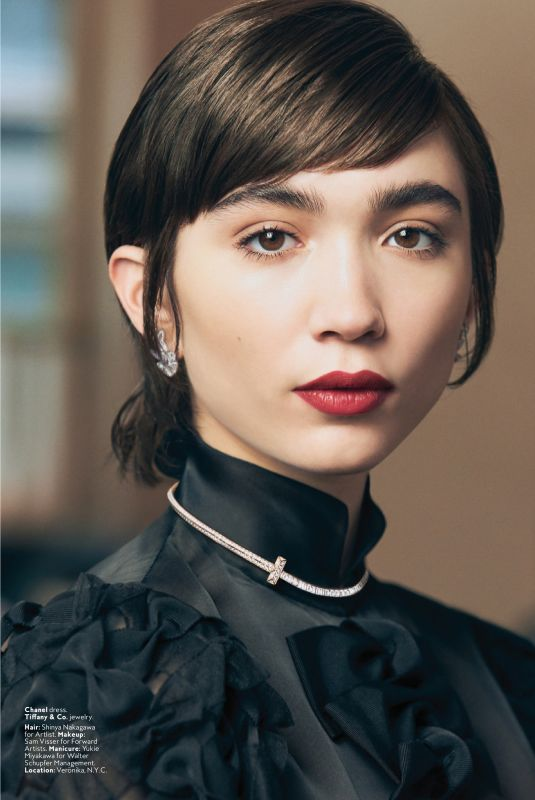 Rowan Blanchard - InStyle Magazine USA April 2020
