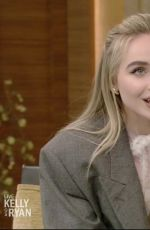 Sabrina Carpenter At Live with Kelly and Ryan in New York