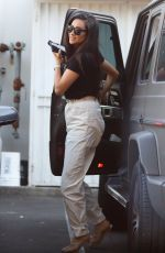 Shay Mitchell At M cafe in West Hollywood