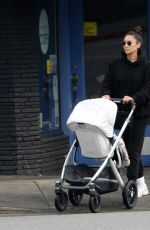 Shay Mitchell Out with her baby in LA