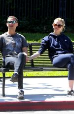 Shia LaBeouf & Mia Goth Out in Los Angeles