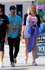 Sophie Turner Out for lunch in Studio City