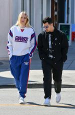 Sophie Turner Shopping in West Hollywood