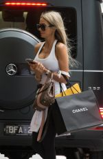 Stacey Hampton From MAFS is seen shopping in Melbourne