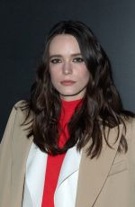 Stacy Martin At Louis Vuitton show as part of the Paris Fashion Week Womenswear Fall/Winter 2020/2021