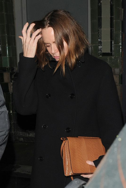 Stella McCartney Seen leaving the Tings launch party at Laylow club in Notting Hill