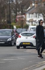 Suranne Jones Pictured out and about North London