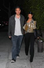 Thandie Newton and her husband Ol Parker enjoy a Friday night out in Beverly Hills