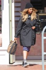 Tyra Banks Out on a grocery run with boyfriend Louis Belanger-Martin in Los Angeles