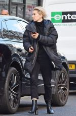 Vanessa Kirby aka White Widow takes a break from filming Mission Impossible 7 in Notting Hill