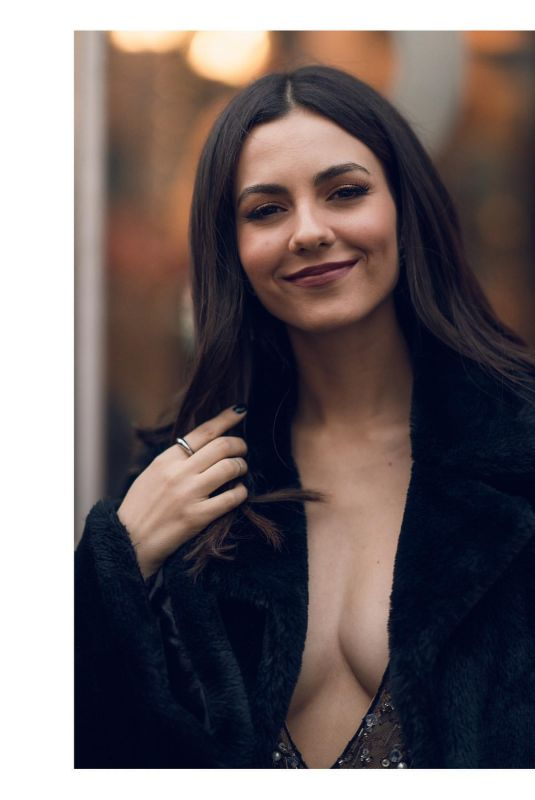 Victoria Justice - Chester Viloria photoshoot in New York February 2020