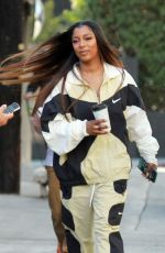 Victoria Monet Seen in Hollywood