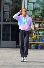 Willow Smith Stops by Whole Foods for groceries in Malibu