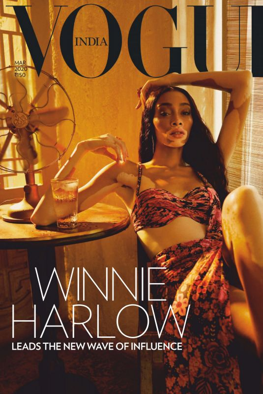 Winnie Harlow - Vogue Magazine India - March 2020