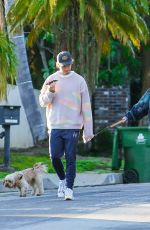 Abby Champion Takes a walk in Pacific Palisades