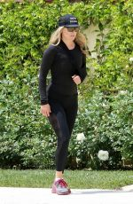 Ali Larter Out for a walk in Pacific Palisades
