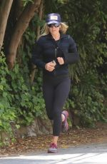 Ali Larter Out Jogging in Pacific Palisades